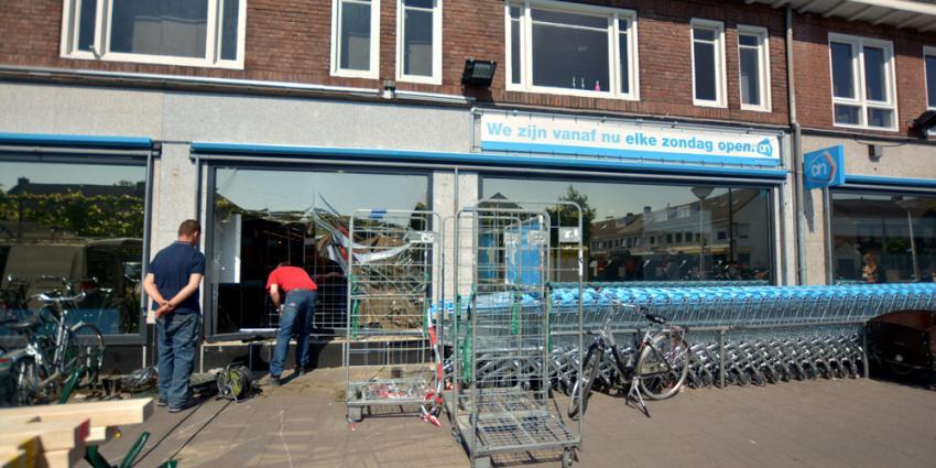 Mislukte ramkraak Eindhoven leidt tot veel schade