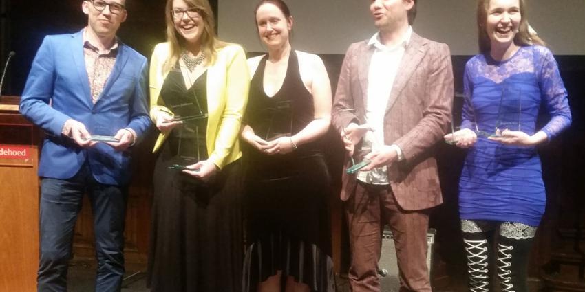 Auke Hulst en Lisette Jonkman winnen Harland Awards