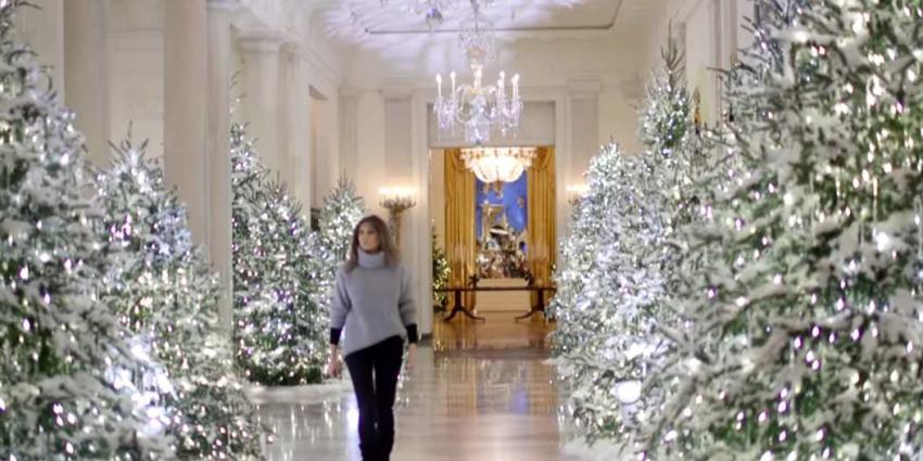 Melania Trump heeft het Witte Huis versierd
