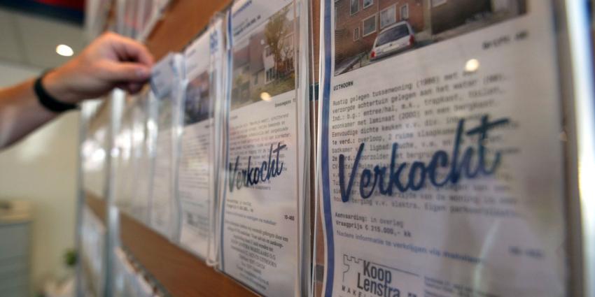 Kadaster registreert in juli 2015 meer verkochte woningen
