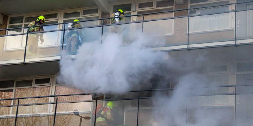 Dode bij brand in woning in Vlaardingen