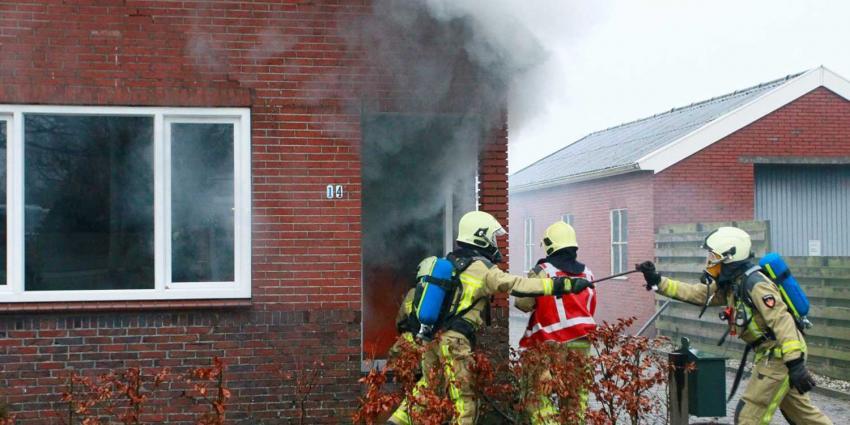 Brand in meterkast woning Stadskanaal