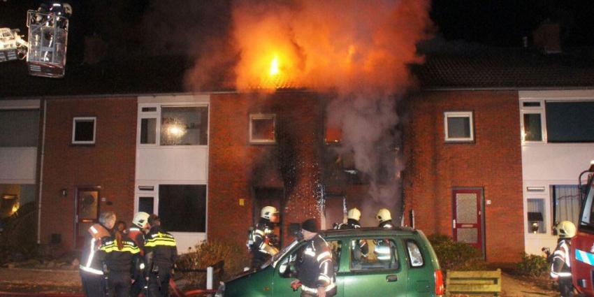 Dode en gewonden bij woningbrand in Emmer-Compascuum