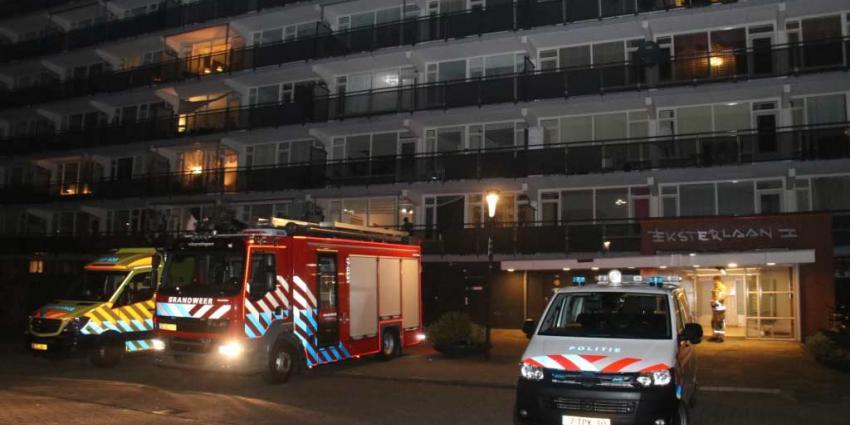 Gewonde na brand in flatwoning in Vlaardingen