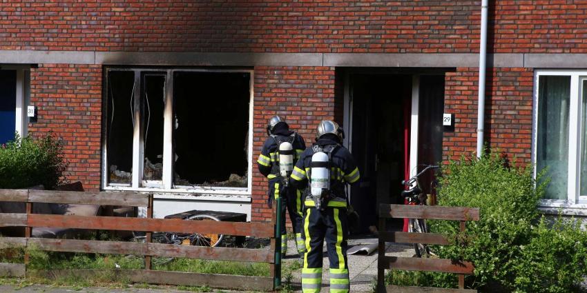 Twee gewonden bij woningbrand in Den Bosch