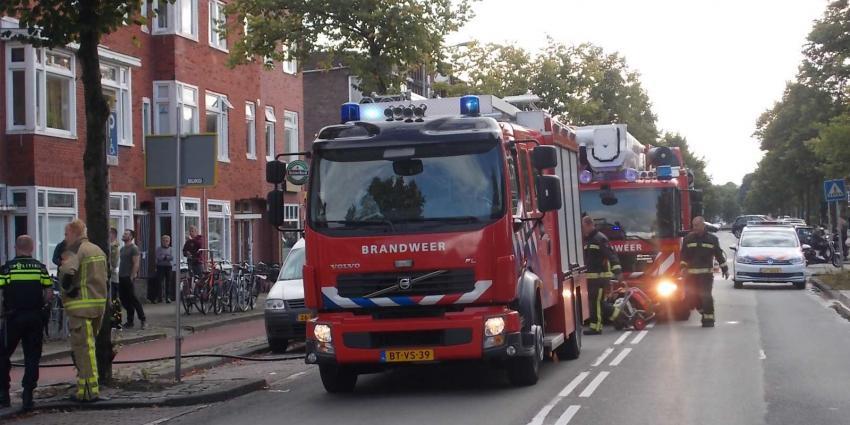 Woningbrand in Groningen