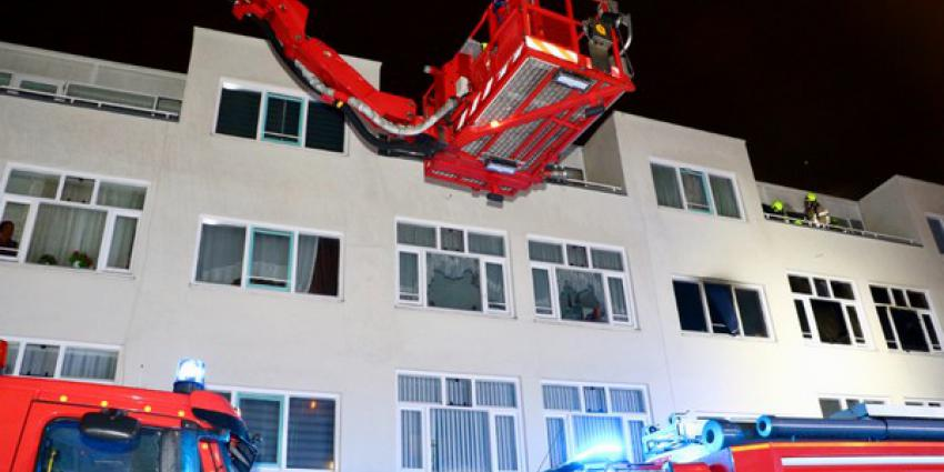 Acht gewonden bij grote brand appartementencomplex Rotterdam