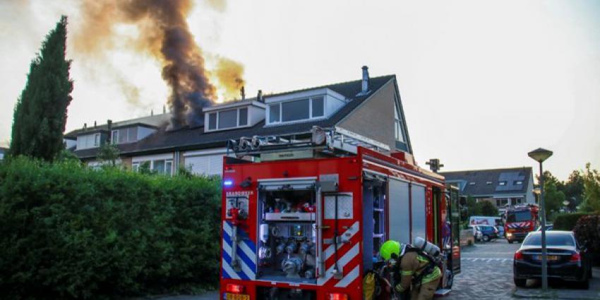 uitslaande brand, woning, vlaardingen