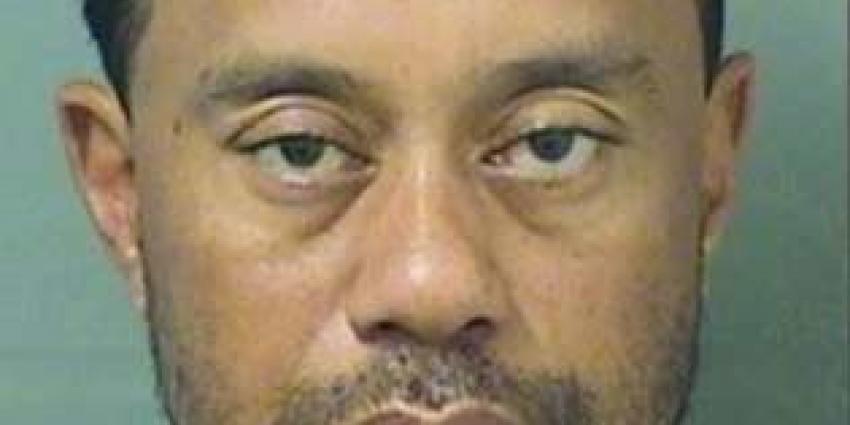 Golfer Tiger Woods opgepakt voor rijden onder invloed