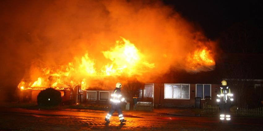foto van brand boerderij | Henk Brunink