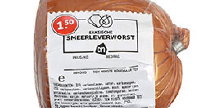 Albert Heijn roept Saksische smeerleverworst terug