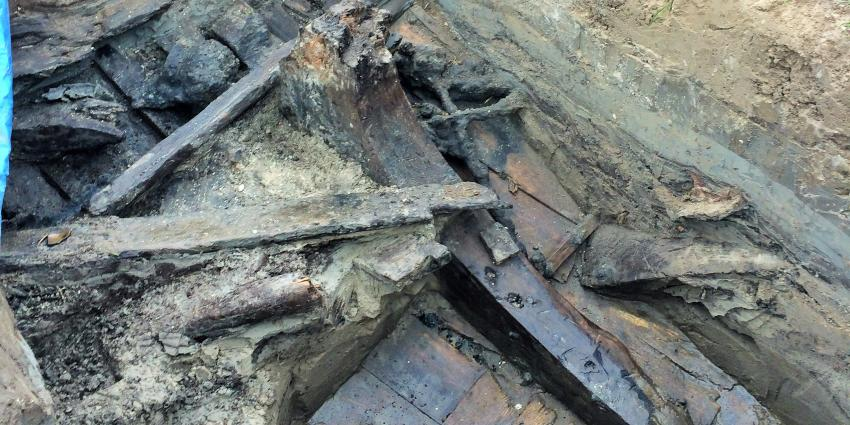 Groot scheepswrak gevonden in Flevoland