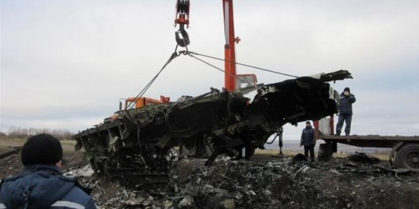 'Uitgelekte foto's wrakstukken MH17'