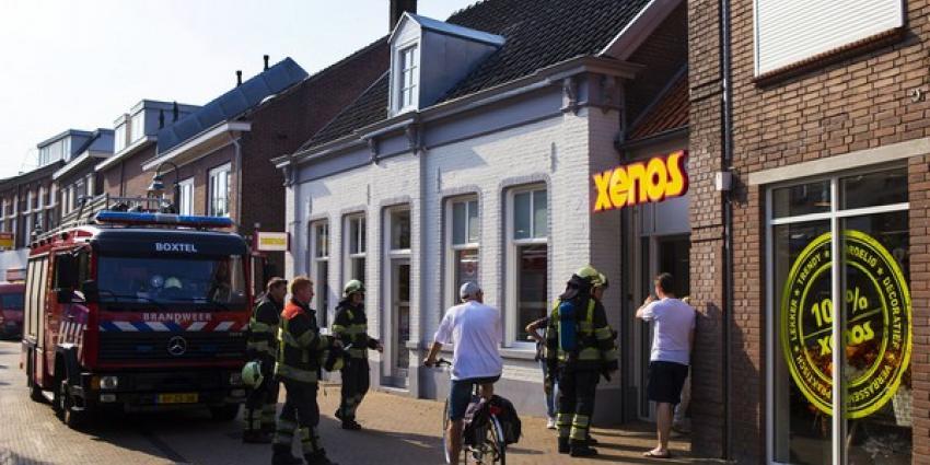 Brandlucht bij Xenos in Boxtel blijkt BBQ van bovenburen