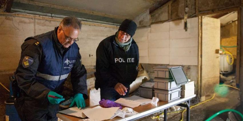 Meer drugs opslaglocaties aangetroffen en een stijging van het aantal dumpingen