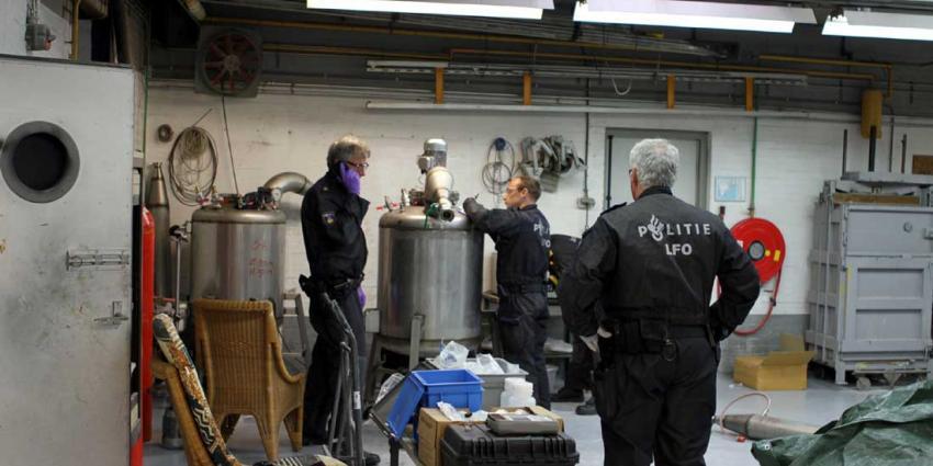 Zeer groot xtc-lab aangetroffen in Eindhoven