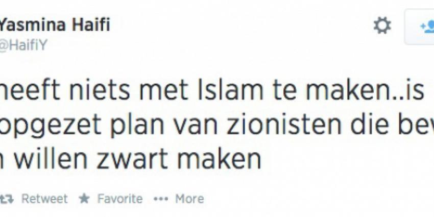 Yasmina Haifi niet terug in oude functie door tweet