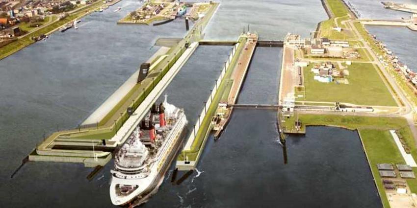 RWS zetten bellenscherm in tegen toenemende verzilting Amsterdam-Rijnkanaal
