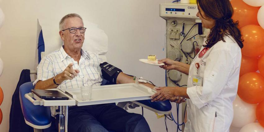 Zeeuw geeft voor 600ste keer bloed