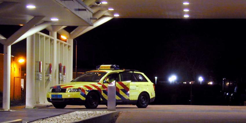 Man met vermoedelijke schotwond meldt zich in ziekenhuis
