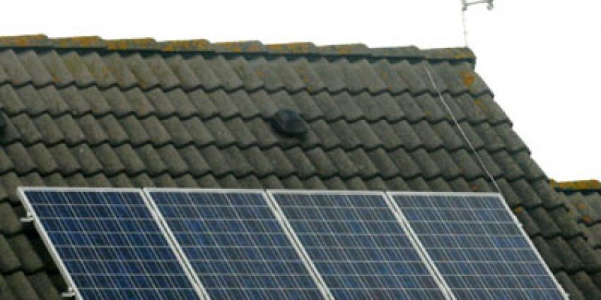 Foto van zonnepaneel op dak | Archief EHF