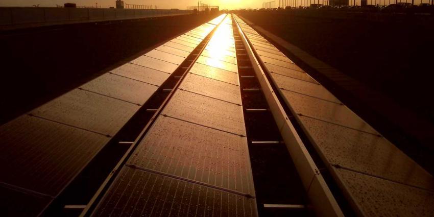 Door zon opgewekte energie met meer dan 30 procent gestegen