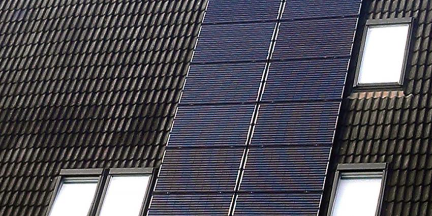 Foto van zonnepanelen op dak van woning | Archief EHF