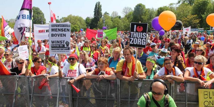 Foto van zorgmanifestatie Oosterpark   BON