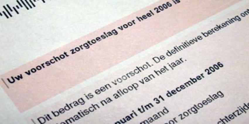 Nederlanders hebben meer kennis van eigen zorgtoeslag