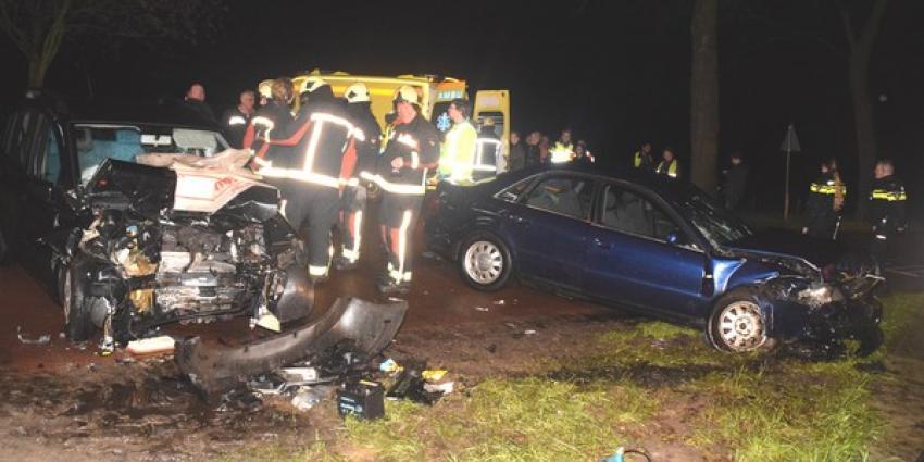 Drie gewonden bij aanrijding Zuidwolde