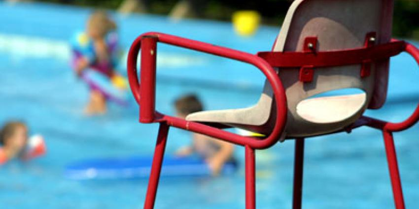 Foto van buitenzwembad controle veiligheid | Archief EHF