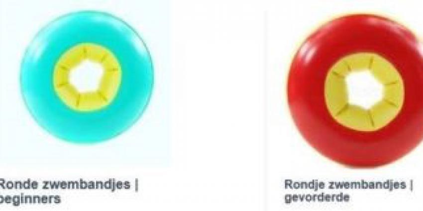 veiligheidswaarschuwing zwembandjes lekker-zwemmen.nl