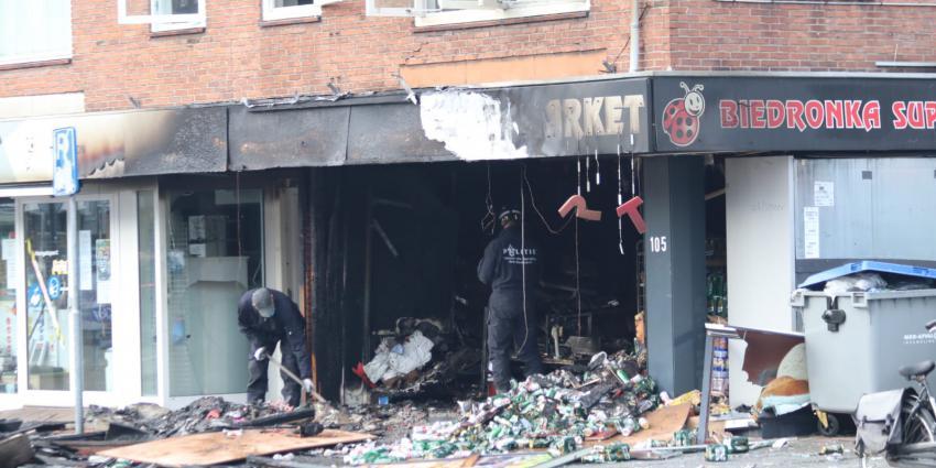 Forse schade aan supermarkt na explosie