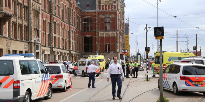 Amsterdam CS, steekpartij, terreuraanslag,