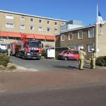 Brandweer bij zorgcentrum