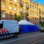 Politie doet onderzoek op plaats incident