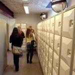 Foto van kluisjes op school | Archief FBF.nl