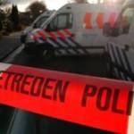 Foto van politieauto's met afzetlint | JPF - Archief