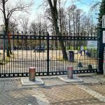 Zij-ingang Vondelpark afgesloten