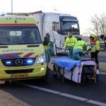 Motorrijder gewond bij ongeval A20