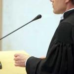 Foto van advocaat in rechtbank | Archief EHF
