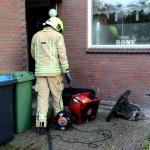 Brand slaat over op afzuigkap