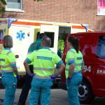 ambu-brandweerman-gewond