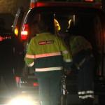 Foto van ambulance brandweer politie in donker | Archief EHF