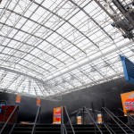Foto van dak van Amsterdam ArenA | Archief EHF
