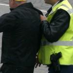 Foto van arrestatie | Archief EHF