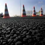 Foto van afgezette snelweg politie ongeval | Archief EHF