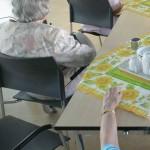 Foto van ouderen in verzorgingstehuis | Archief EHF