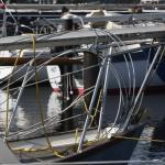Foto van zeiljacht in haven | Archief EHF