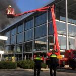 Veel rook bij brand in nieuwbouw Schiedam